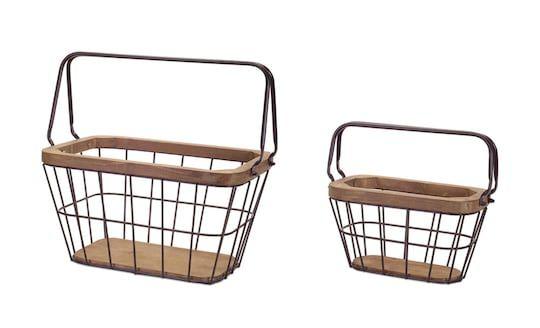 Modern Basket Set 10 15 By Melrose Michaels Basket Sets