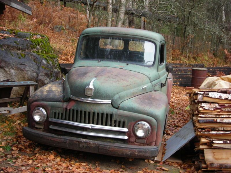 Kijiji: 1951 International Harvester L100 Pickup Truck - BEFORE ...