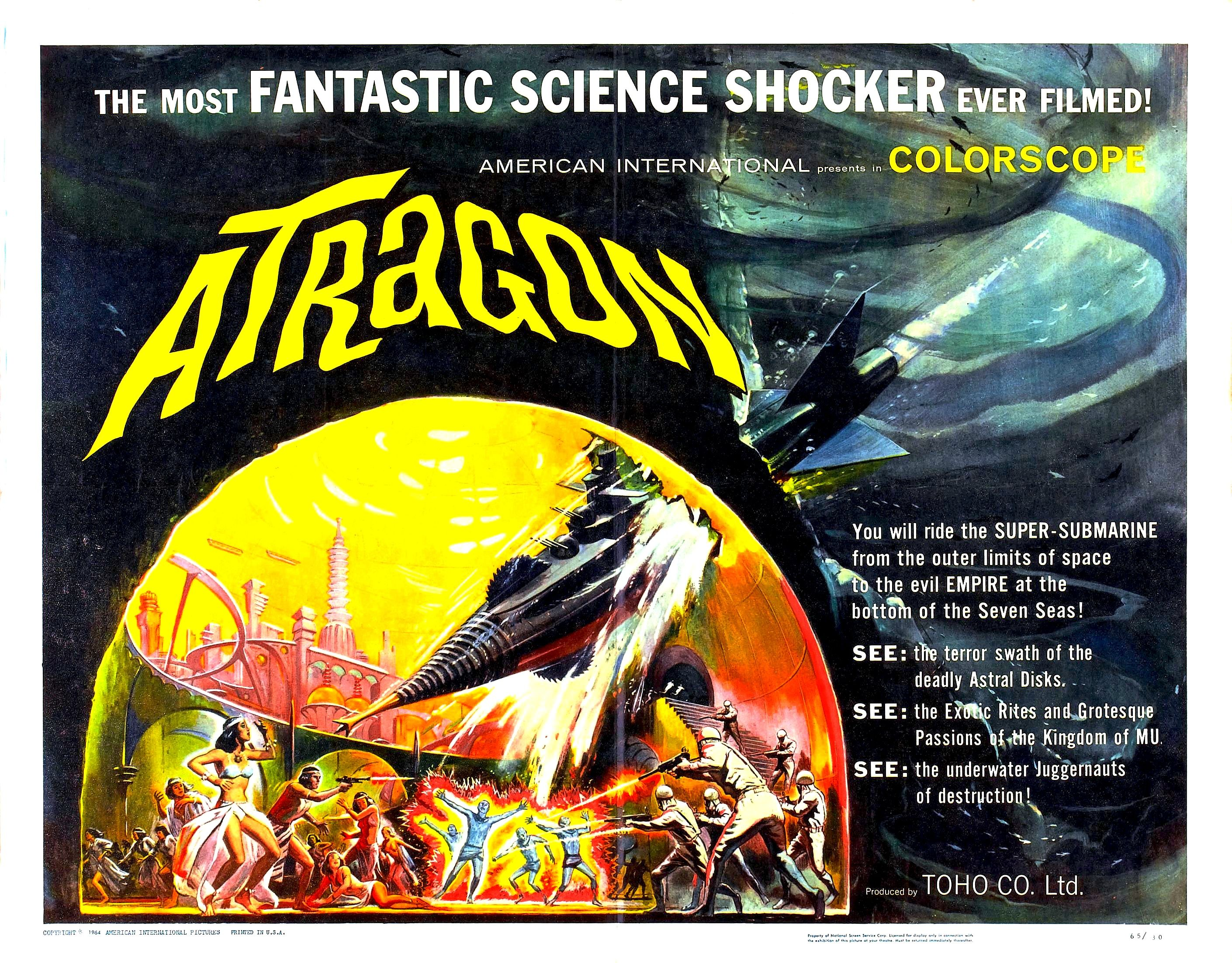 Atragon (1963, 1965)