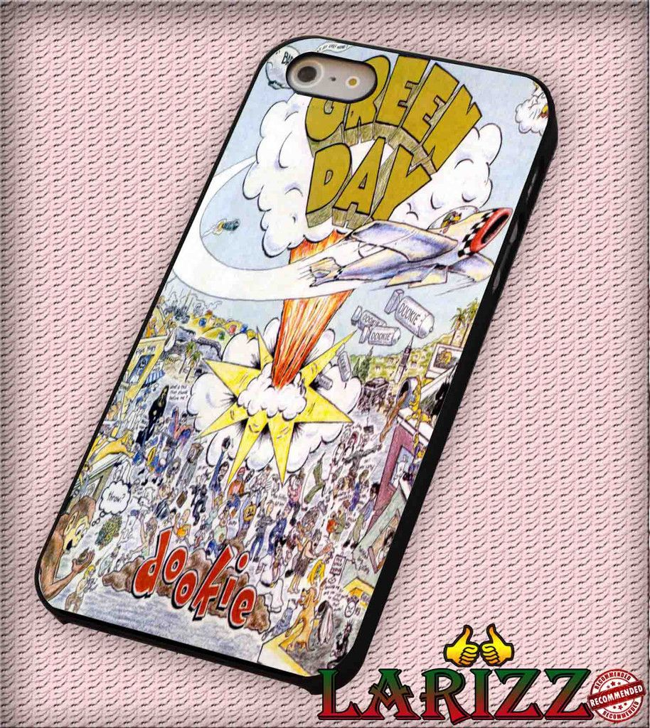 """Green Day Dookie for iPhone 4/4s, iPhone 5/5S/5C/6/6 , Samsung S3/S4/S5, Samsung Note 3/4 Case """"007"""""""