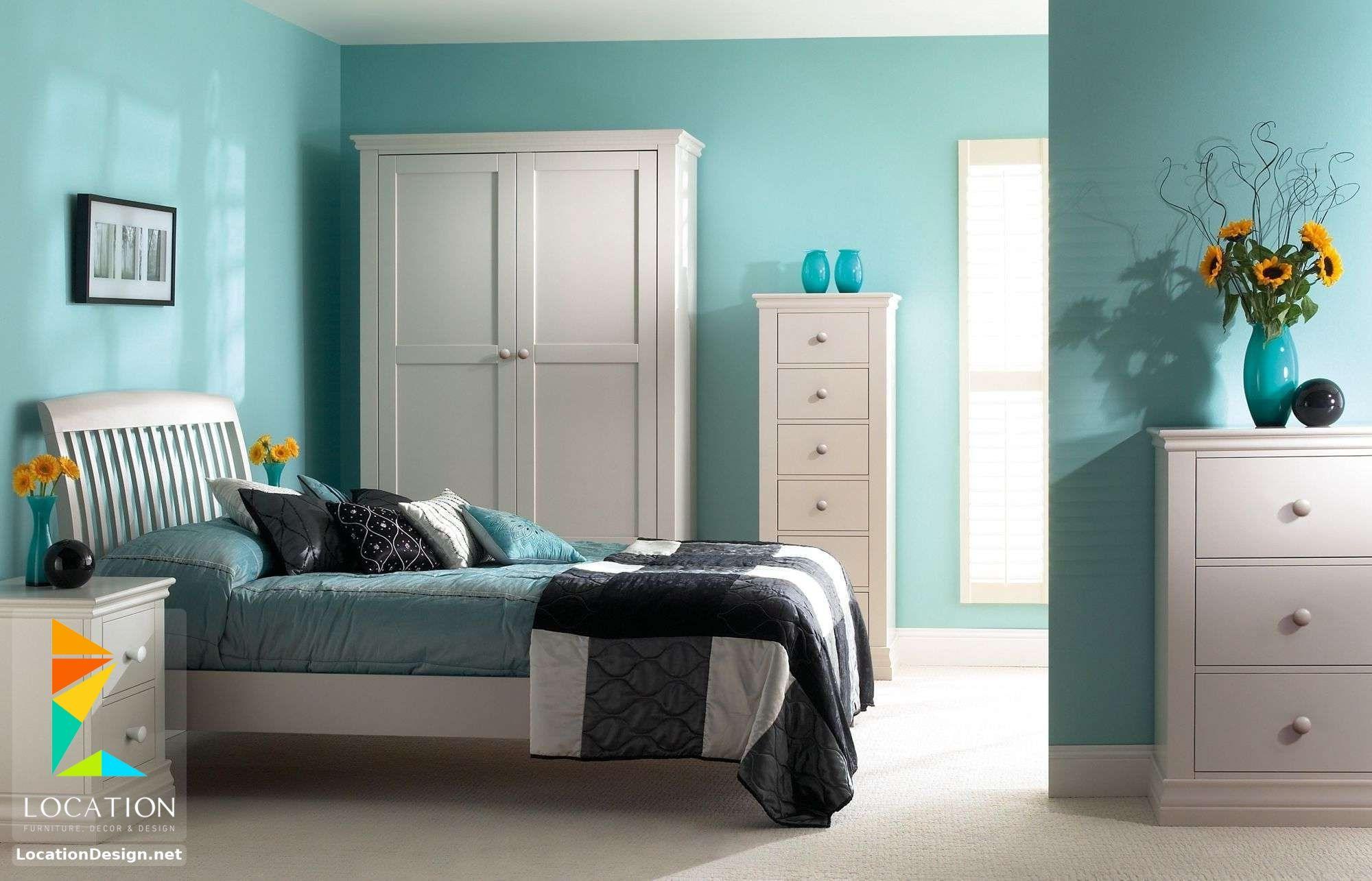 ديكورات غرف نوم صغيرة وبسيطة لوكشين ديزين نت Turquoise Room Girls Blue Bedroom Turquoise Bedroom Decor