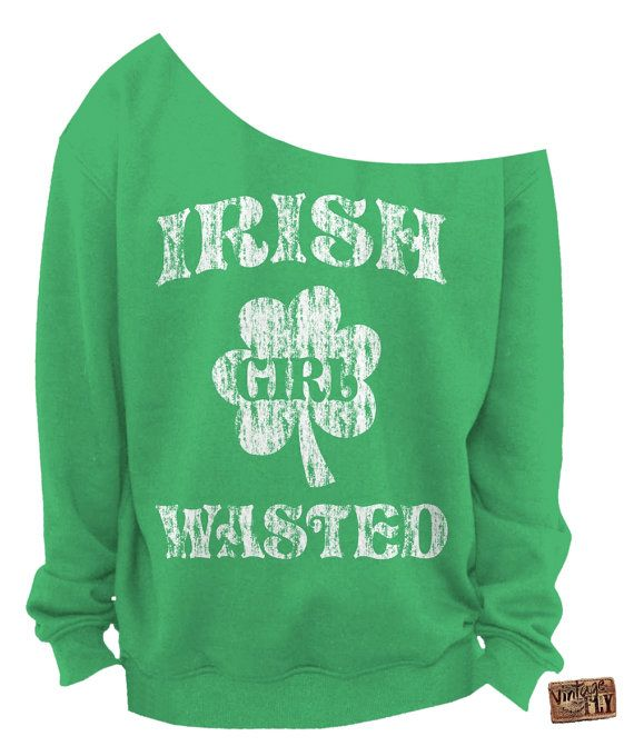 7dafac81 IRISH Girl Wasted - St PATRICKS Day SHIRT - Irish Shirt - Ladies ...