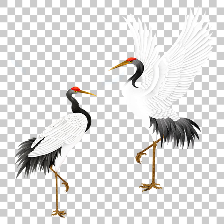 Crane Stork Bird Png Image With Transparent Background Stork Bird Stock Images Free Stork