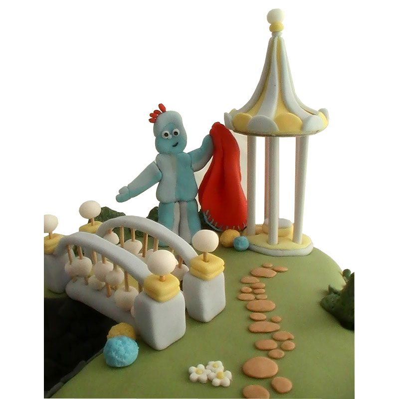 Pin Iggle Piggle Cake Toppers Cake on Pinterest | Edible ...