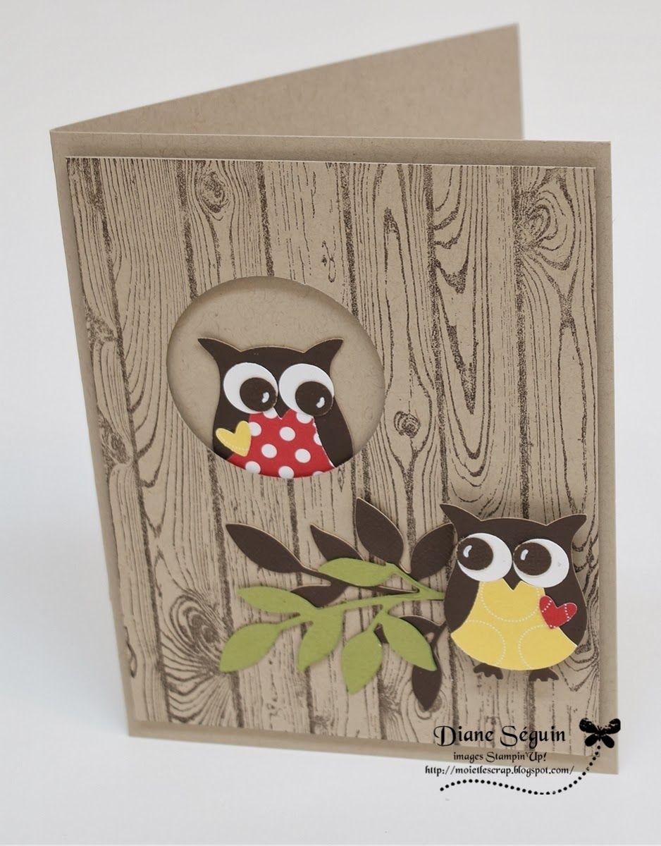 Самому нарисовать, скрап открытки с совой