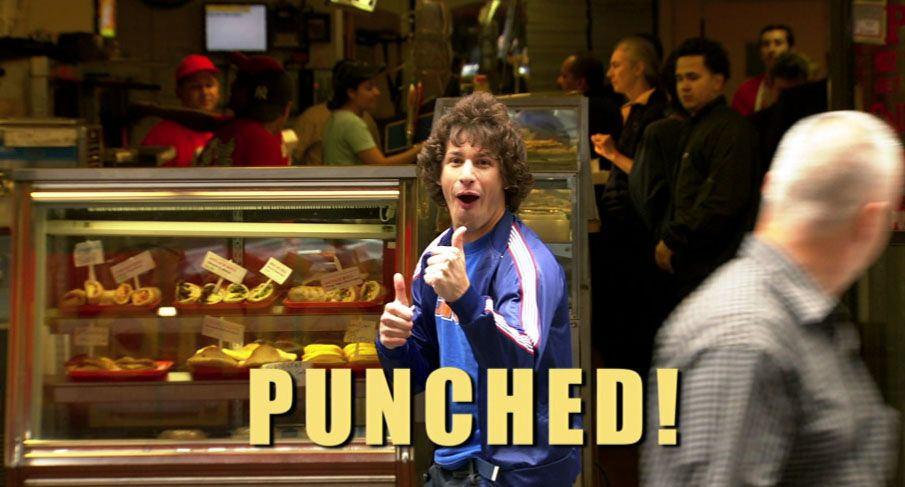 Saturday Night Live Andy Samberg in Andy Punches #SNL Live from