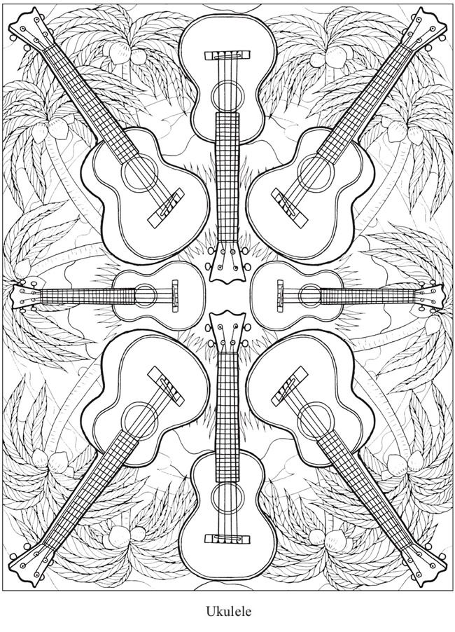 Welcome to Dover Publications - CH Musical Kaleidoscope | Draw ...