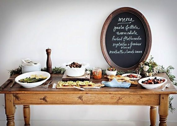 Aperitif dinatoire decoration buffet f te pinterest - Decoration legumes pour buffet ...