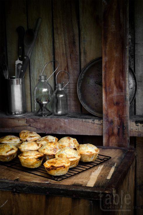 Mini steak, onion & ale pies | Ale pie, English food, Food