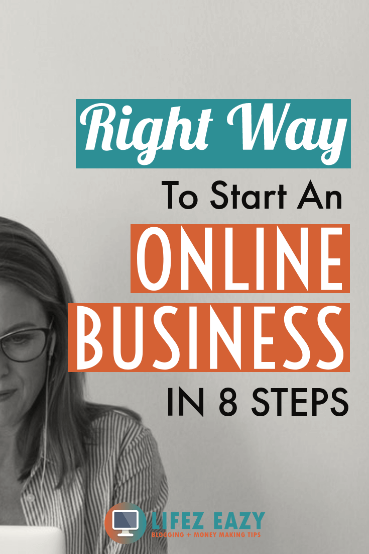 Start An Online Business Follow These 8 Steps To Start Your Own Online Business From Scra Online Business Online Business From Home Online Business Marketing