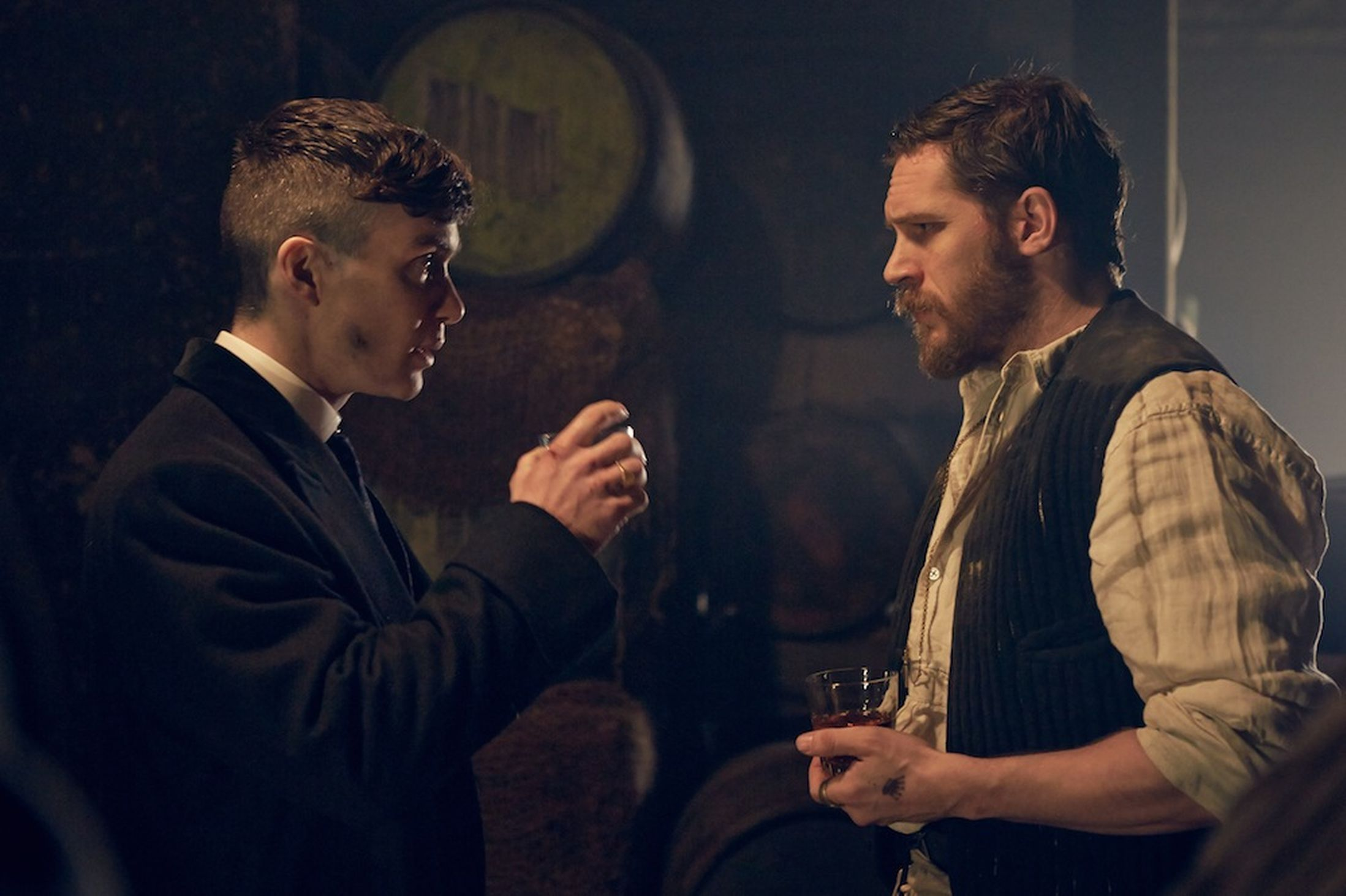 Peaky Blinders Watch Tom Hardy S First Scene As Alfie Solomons