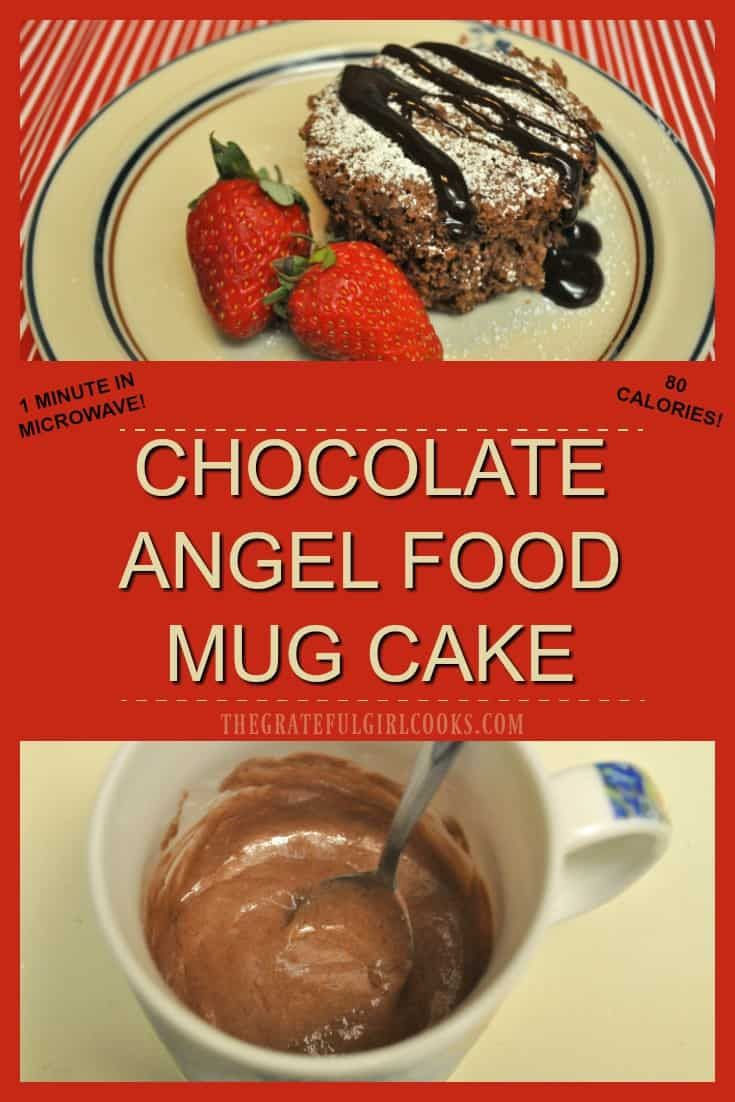 Angel Food Mug Cake Recipes