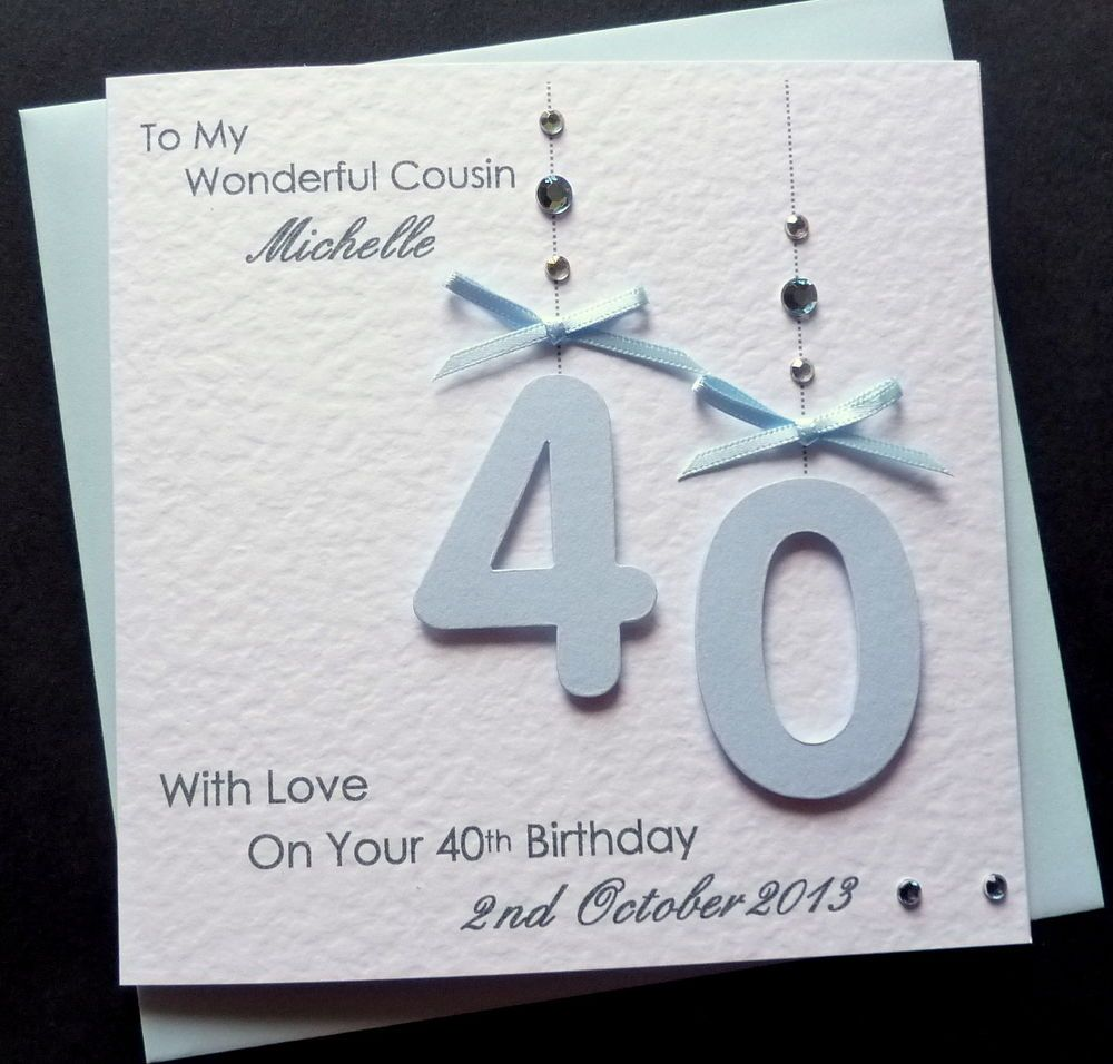 Pin By Elda Alatorre On Cards 80th Birthday Cards 40th