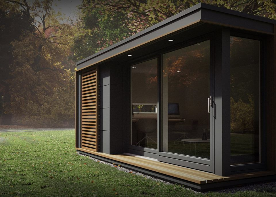 modular garden office. these pop-up modular pods can add a garden studio or off-grid escape just about anywhere office i