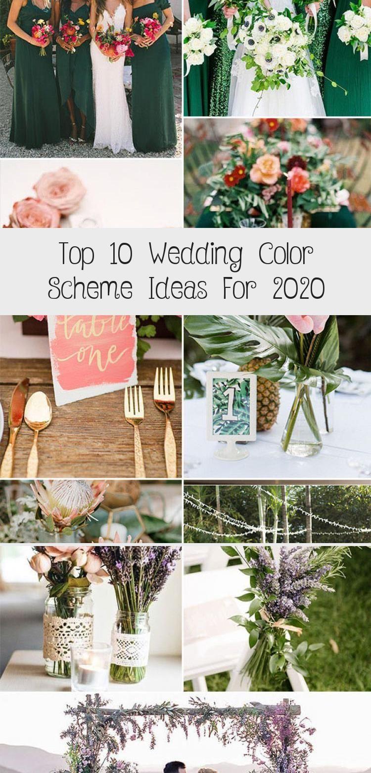 Top 10 Wedding Color Scheme Ideas For 2020 Wedding