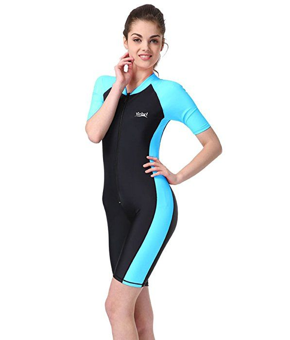 Amazon com: BIKMAN One-Piece Snorkeling Surfing Swim Suit