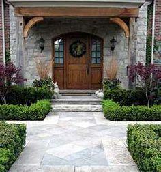 Landscape Design Front Of House Entryway