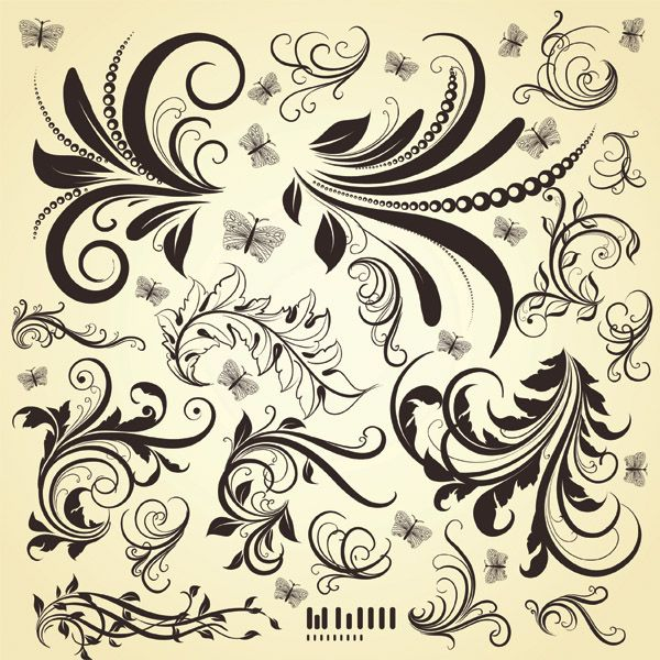 abstract designs design elements organic design patterns leaves and abstract