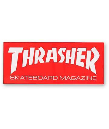 Thrasher Skatemag Logo Sticker Thrasher, Logo sticker