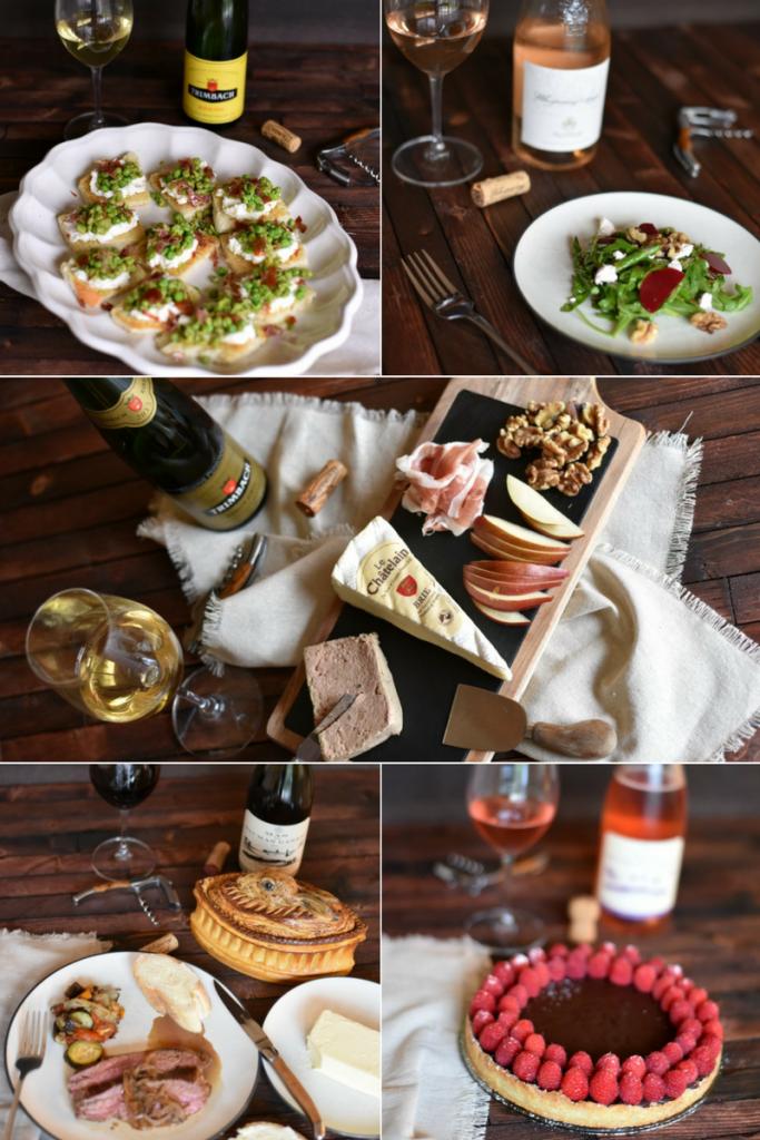 Simple Dinner Party Menu Ideas Part - 45: Food · Easy And Simple 5 Course French Dinner Party Menu