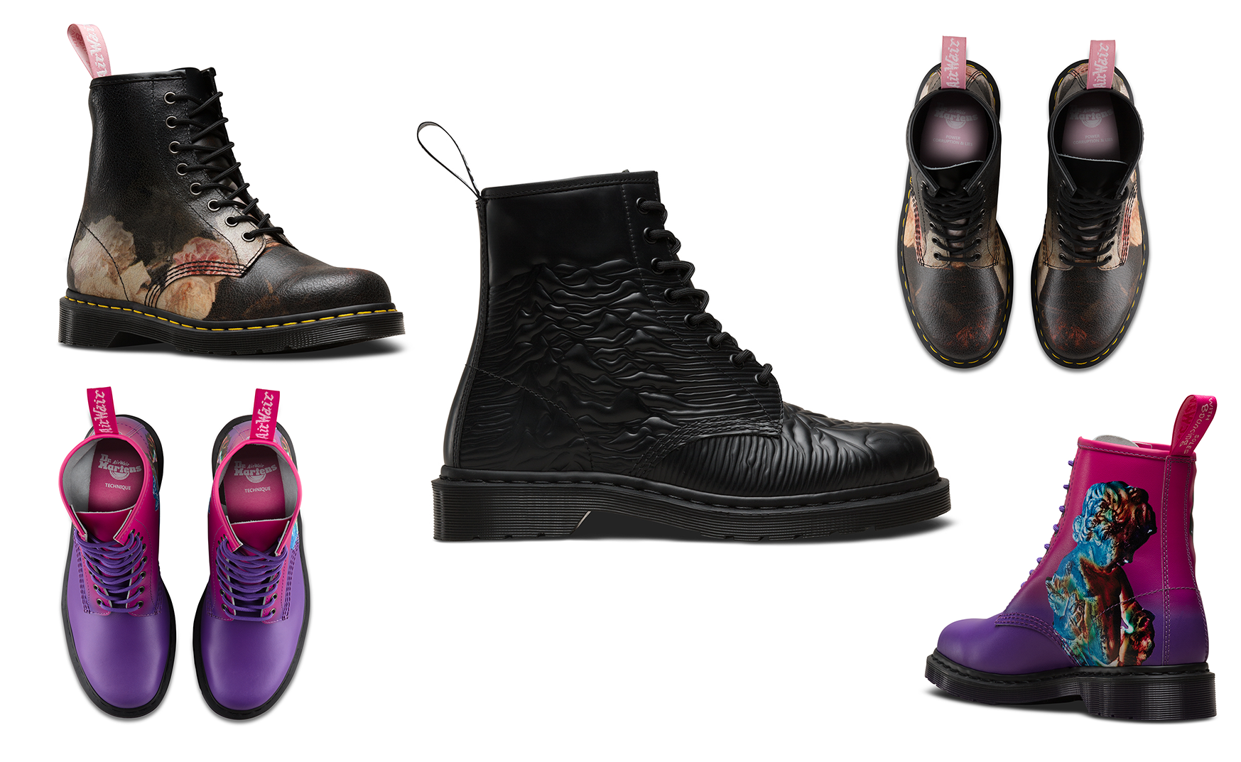 New Order & Joy Division | Dr. Martens | Leather Boots