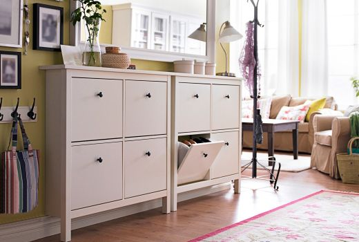 armoires chaussures ikea couloir pinterest hemnes casiers et ikea. Black Bedroom Furniture Sets. Home Design Ideas