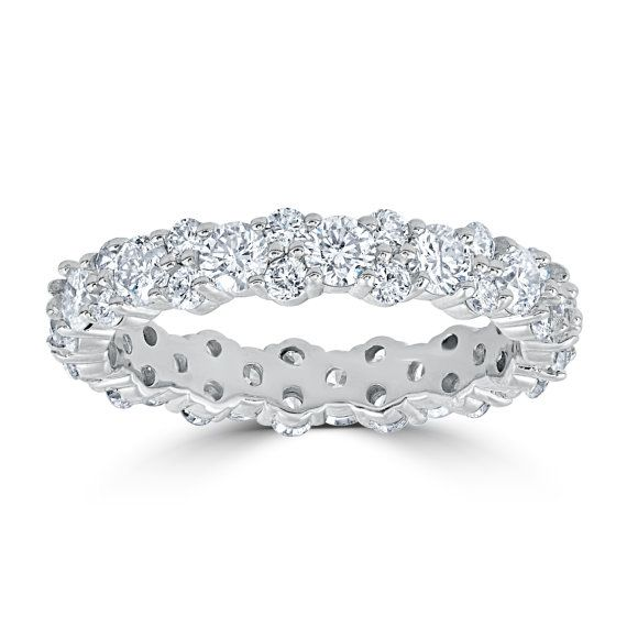 .25ct Diamond Ring Stackable Engagement Womens Wedding Band 10K White Gold