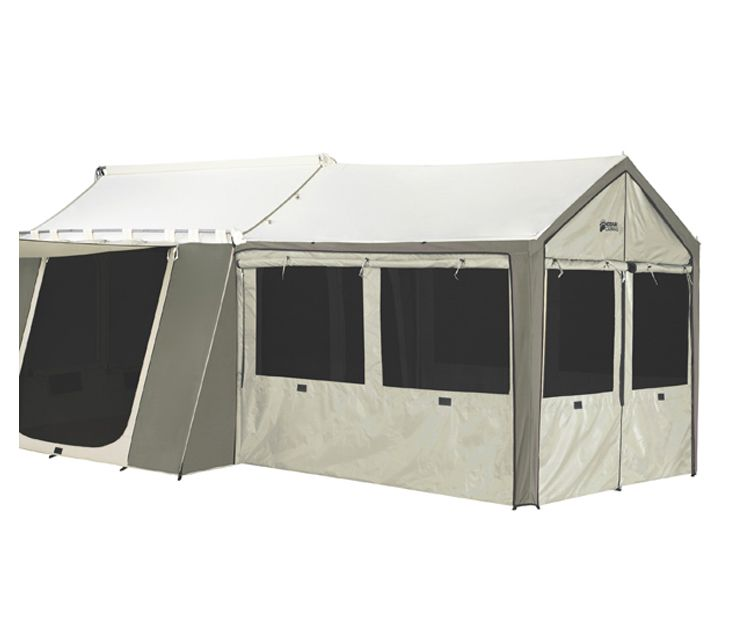 Kodiak Canvas 0650 Wall Enclosure For Model 6133 Deluxe Awning Tent This Has 3 Walls That Attach To The On