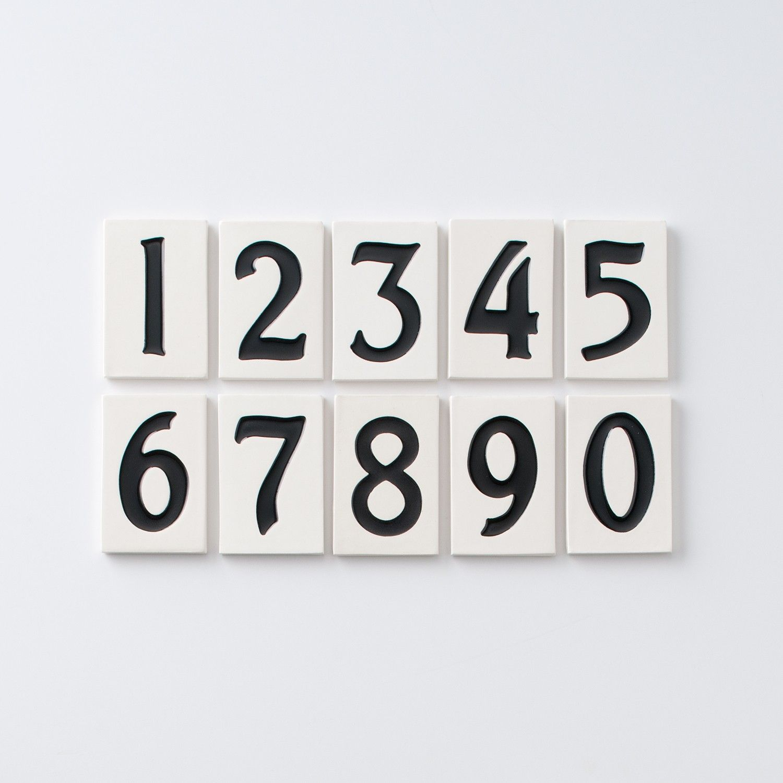 Asbury House Numbers