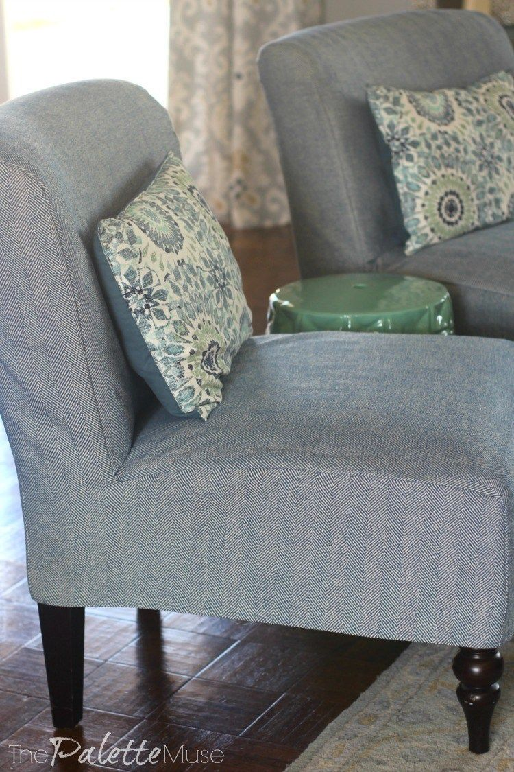 How to Make Your Own Simple Chair Covers  Chair covers slipcover
