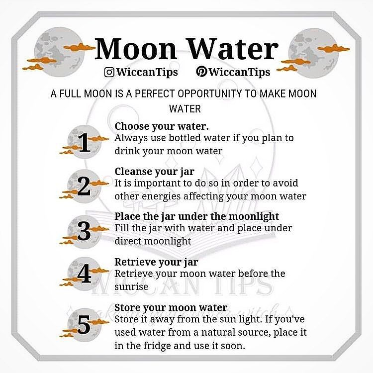 Mtnwitch S Instagram Post How To Make Moon Water For The Full Moon Coming Up On 4 7 Credit Wiccantips Wiccan Witch New Moon Rituals Moon Witch