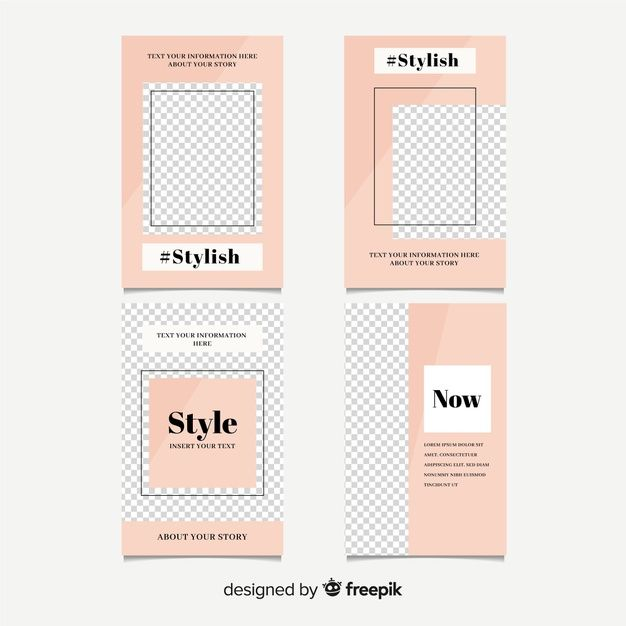 Download Instagram Stories Template for free