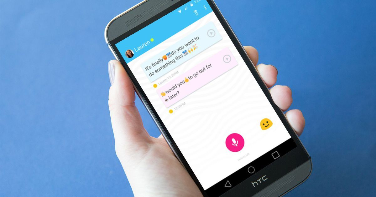 Google's new messaging app translates your voice into
