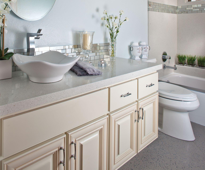 countertop granite | kids/guest bathroom | Pinterest | Granite, Wall ...