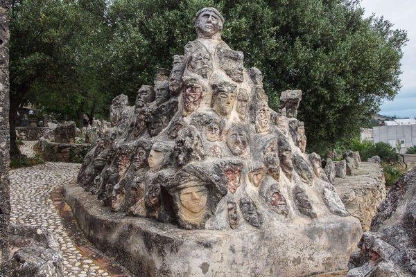 Sciacca Castello Incantato Sicilia Italia Castello