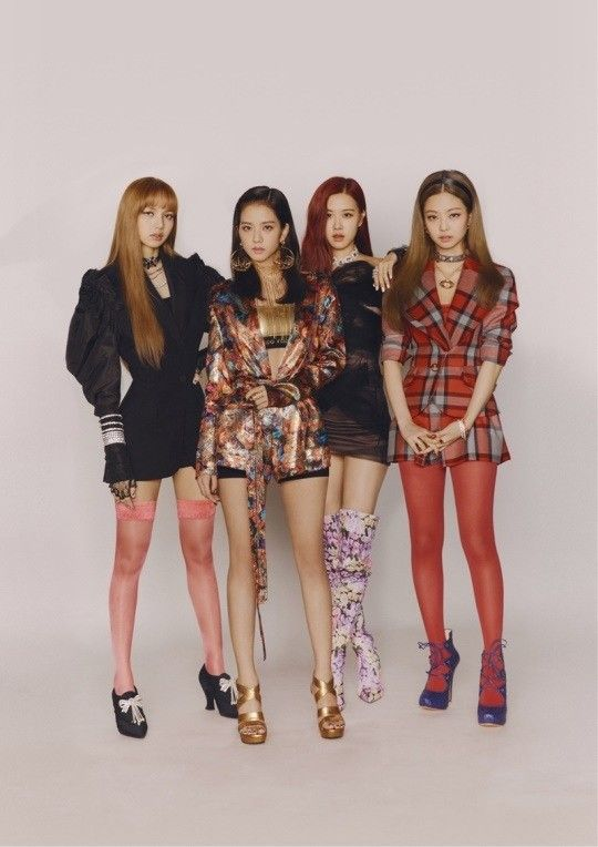Ask K Pop Blackpink Announced That They Would Extend Their Promotion Period Until The End Of July Blackpink Fashion Blackpink Square Up Black Pink Kpop
