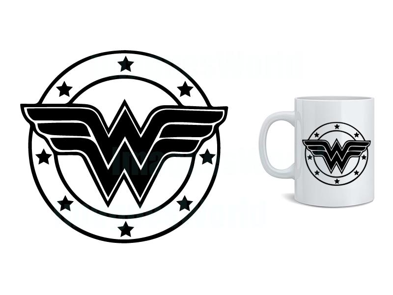 WONDER WOMAN logo (svg, dxf, png, eps, jpg) Download instantly ...