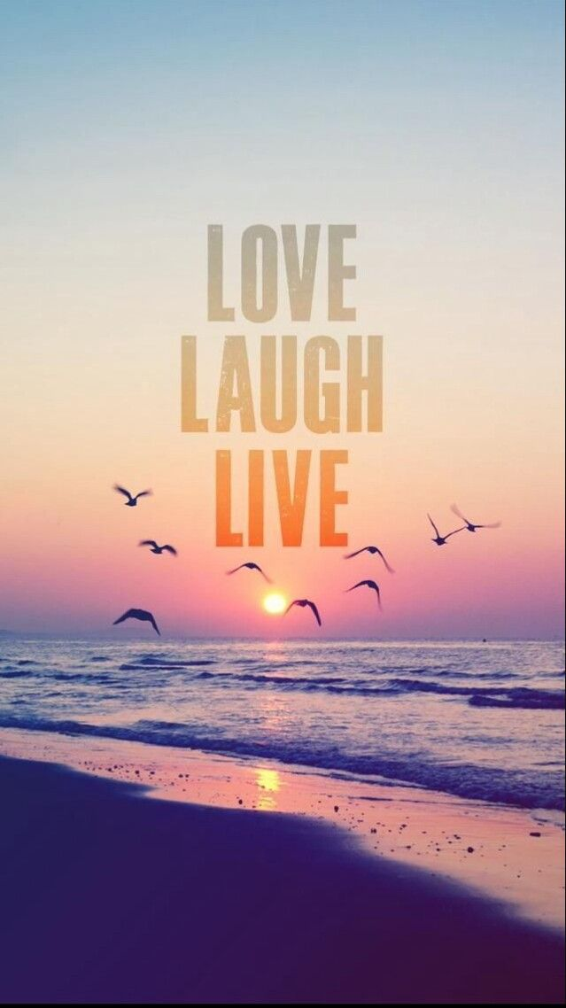 Love Laugh Live wallpaper hd | Wallpapers | Pinterest | Live wallpapers and Motivation