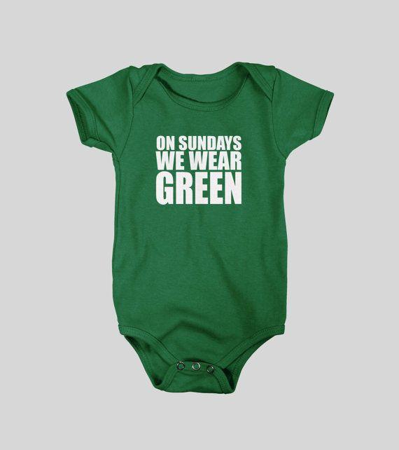 297da68d Eagles | On Sundays We Wear Green | Future Children | Baby, Packers ...