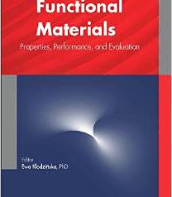 Functional Materials Properties Performance And Evaluation PDF