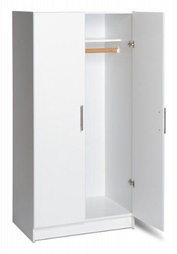 Prepac Wew 3264 32 Wardrobe Cabinet White For Only 201 40 You