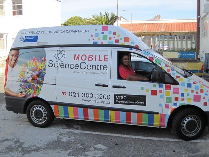 outreach van graphic design idea - Cape Town Science Centre   Design ...