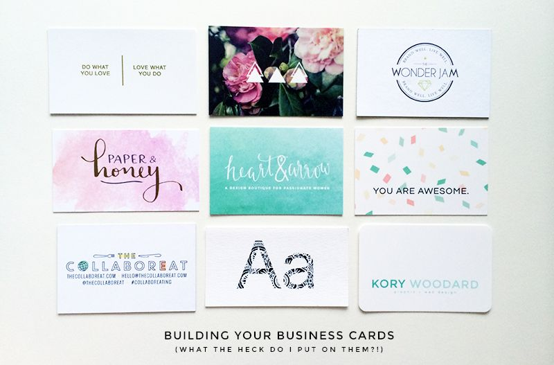 Building your business cards business cards business and create building your business cards what the heck to put on them colourmoves