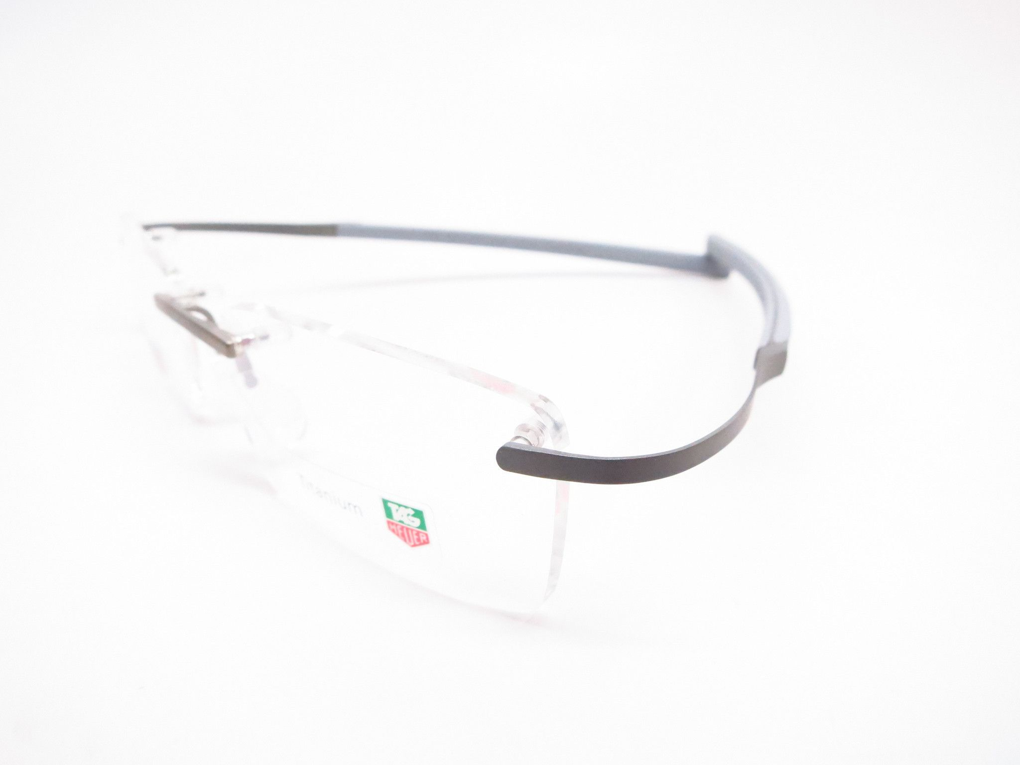 Tag heuer th 0342 009 silver carbon fiber spring eyeglasses tag heuer sunglasses for Tag heuer c flex