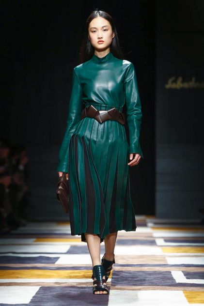 Salvatore Ferragamo Ready To Wear Fall Winter 2015 Milan...Wow love the details!!!