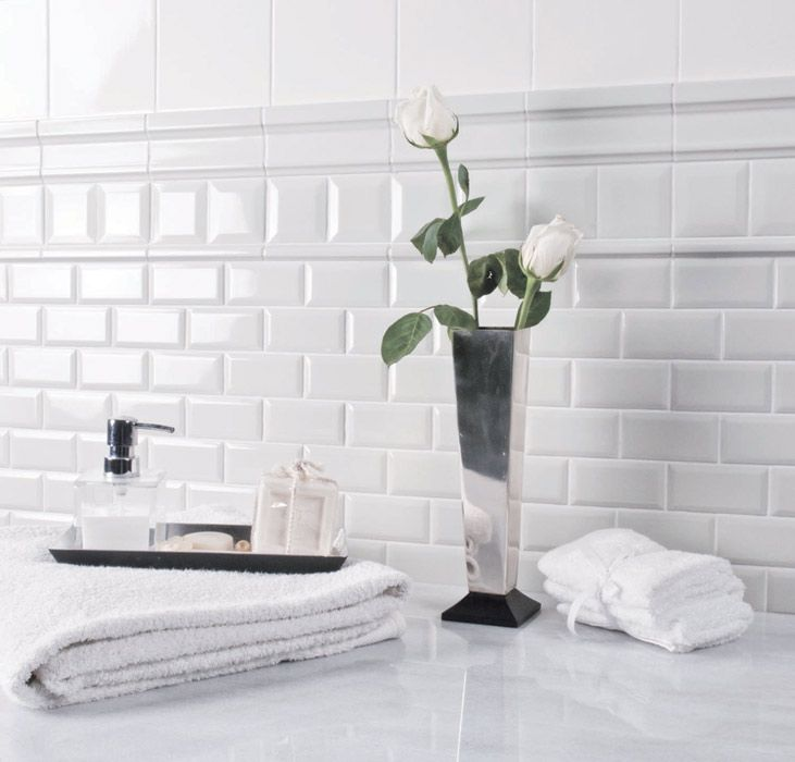 Best Photo Gallery For Website Subway tile bathroom ideas urban collection DSC white featured Black and white subway tile bathroom ideas
