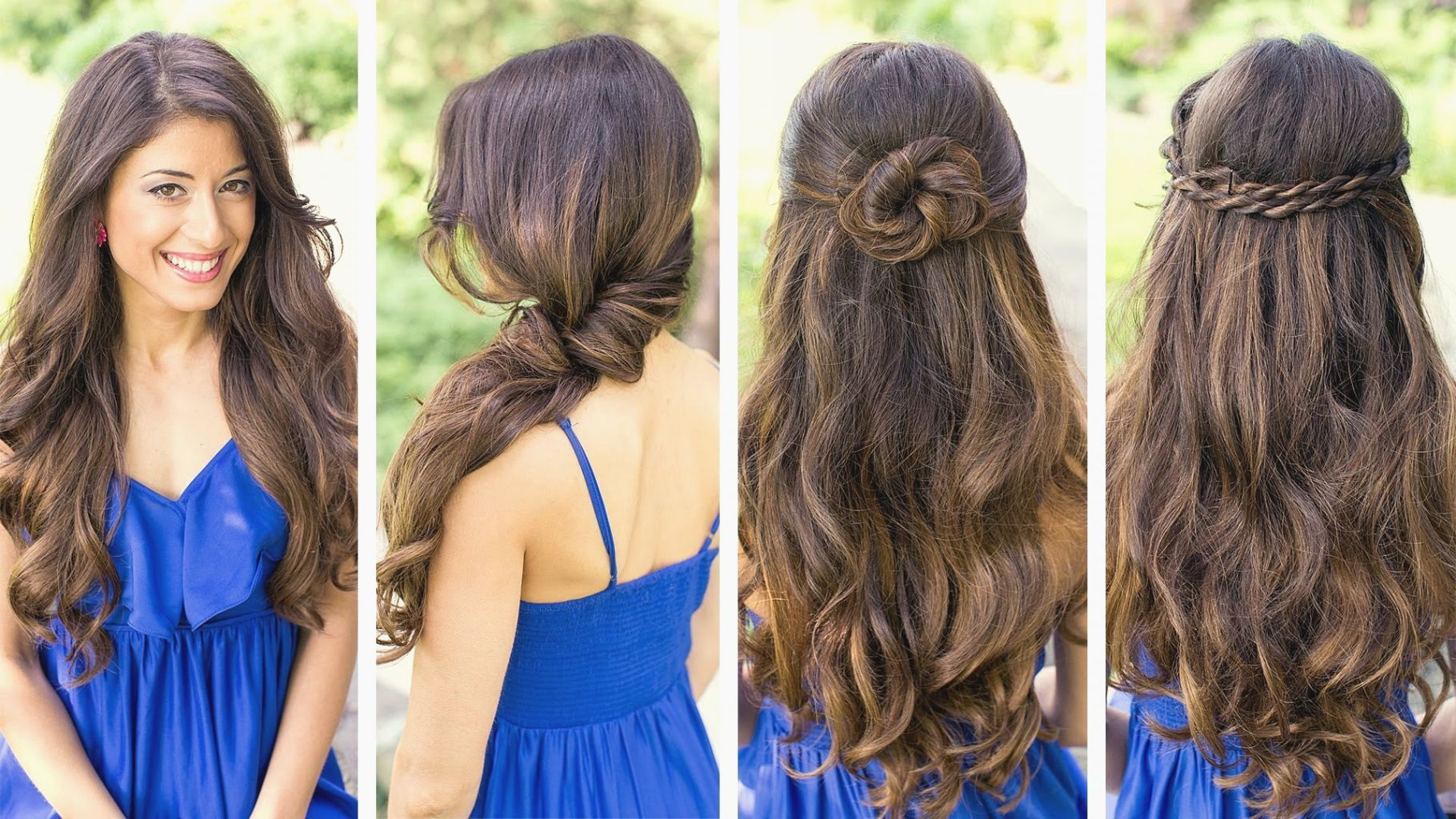 Hairstyle Easy Hairstyles For Thick Curly Hair Lovely Cute And