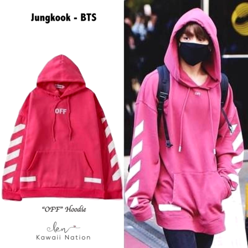 Off Hoodie Bts Inspired Outfits Bts Clothing Kpop Fashion