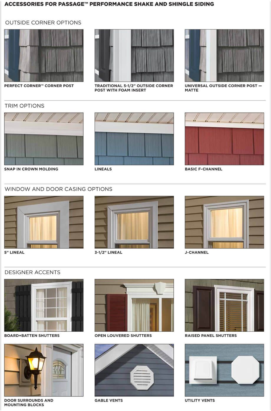This Is The Exterior Solution R No Other Brand Offers Vinyl Siding Polymer Shakes And Shingles Repl House Exterior Outdoor Window Trim Window Trim Exterior