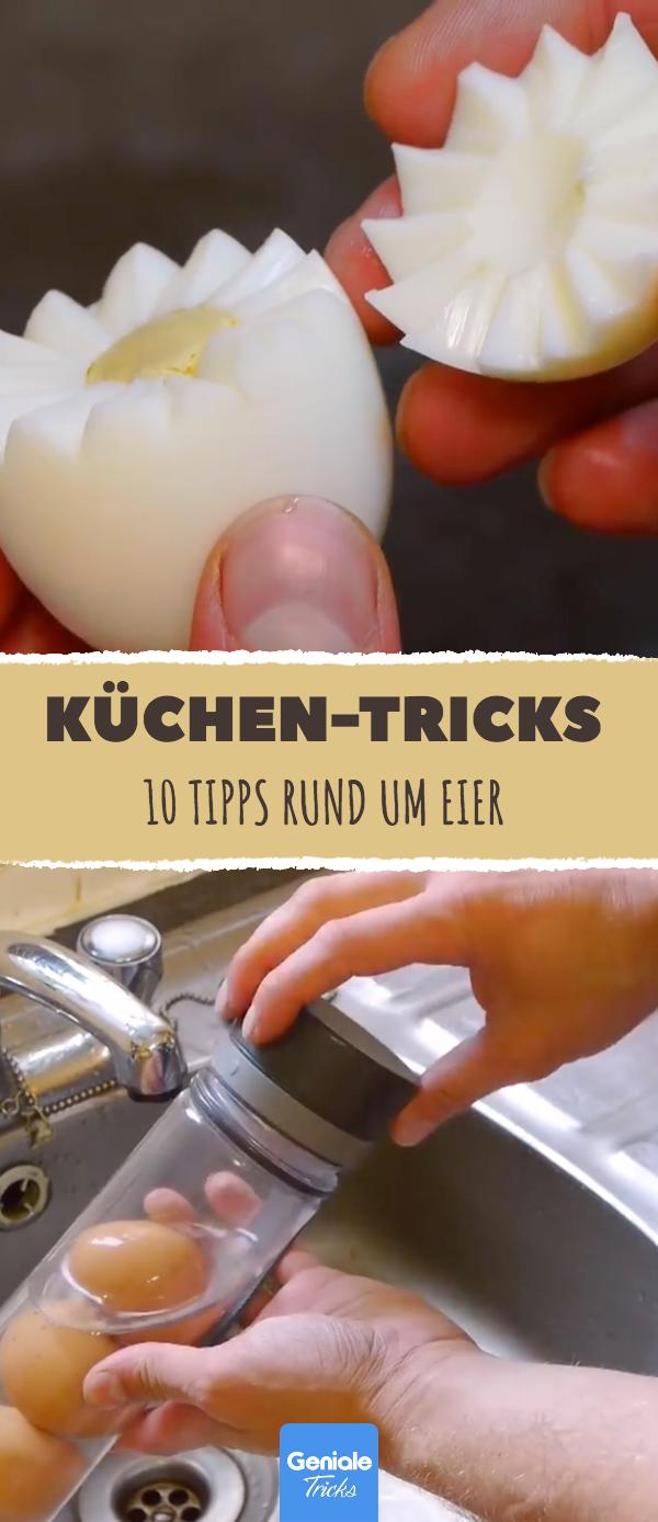 10 k chen tricks rund um eier haushalt pinterest. Black Bedroom Furniture Sets. Home Design Ideas
